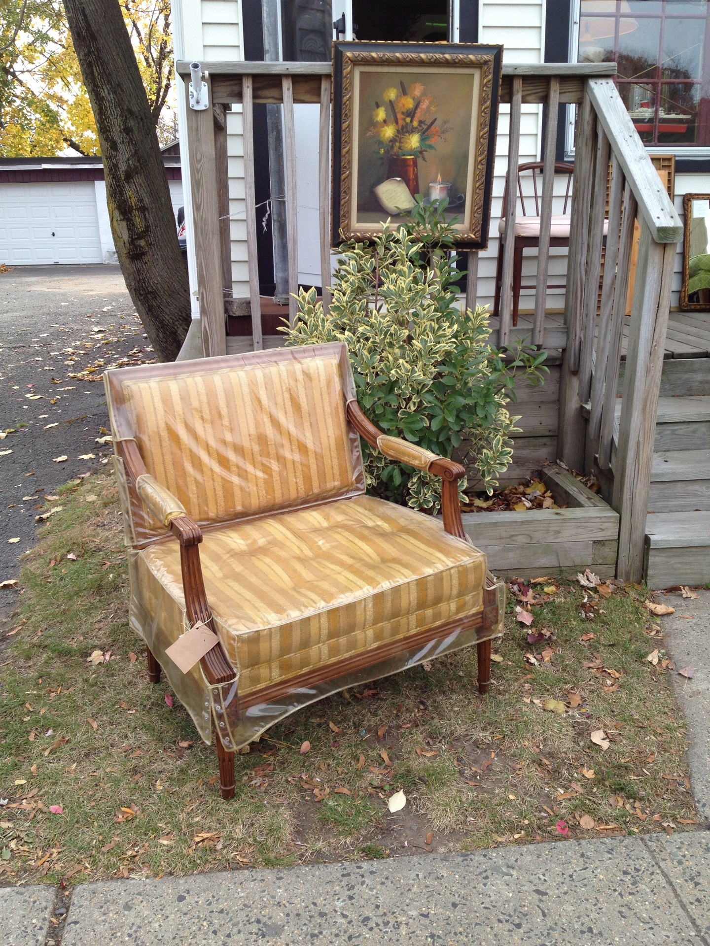 Mid Century Chair & A Half